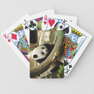 Jätte- Panda Gao Gao på den San Diego zooen Spelkort
