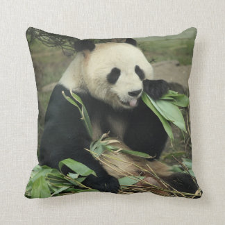 Jätte- panda- och babyPandadekorativ kudde