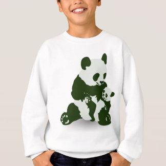 Jätte- Panda och unge Tshirts