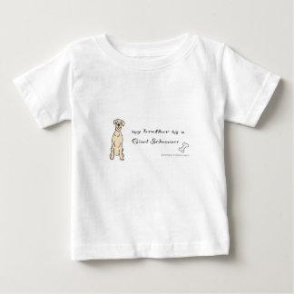 jätte- schnauzer - mer föder upp tee shirt