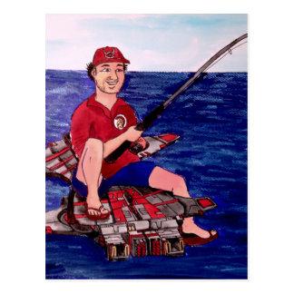 Jättefiske Vykort
