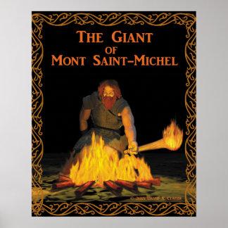 Jätten av Mont San-Michel Poster
