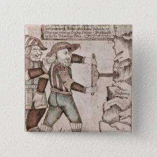 Jätten Baugi som övertalas av Odin Standard Kanpp Fyrkantig 5.1 Cm
