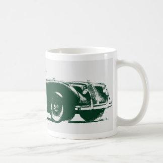 Jaugar xk140 kaffe koppar