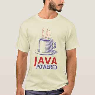 Java drev t-shirt
