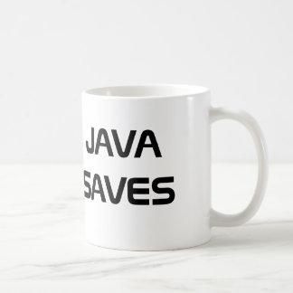 Java sparar kaffemuggen kaffemugg