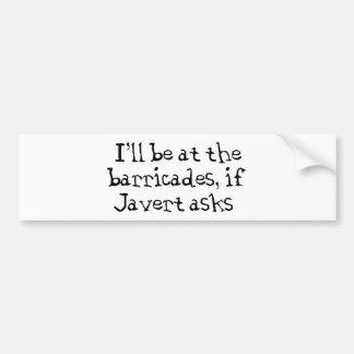 Javert Les Miserables Bildekal