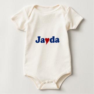 Jayda med hjärta body