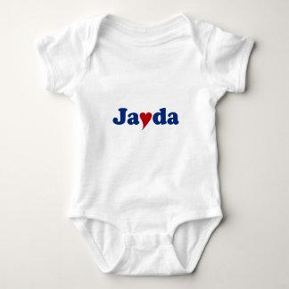 Jayda med hjärta t shirt