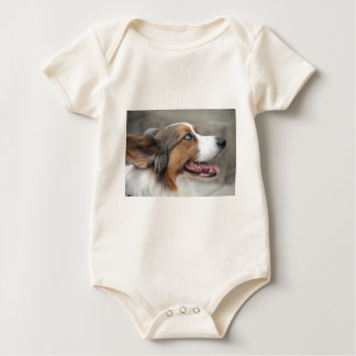 Jayke - walesisk Corgi för blåttmerlekofta Body För Baby