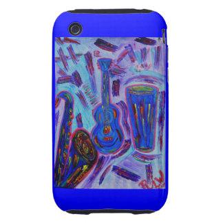 Jazz för björnbärFodral-Jazz Jazz iPhone 3 Tough Skal