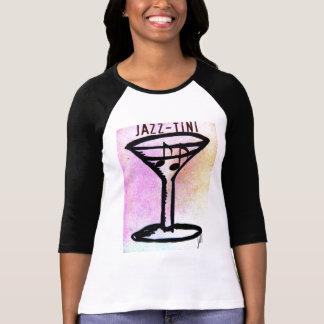 JAZZ--TINItryck av jill T-shirts