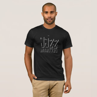 JazzmartyrT-tröja skuggar design T-shirts