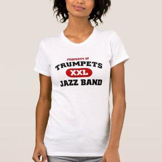 Jazzmusikband för trumpeter XXL T-shirt