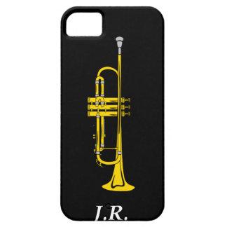 Jazztrumpeten tillfogar din initialerfodral-kompis iPhone 5 fodraler