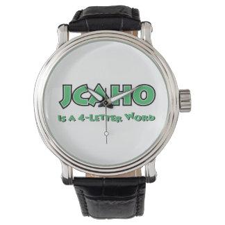 JCAHO är ett ord 4-Letter Armbandsur