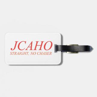 JCAHO: Raksträcka ingen eftersläckare Bagagebricka