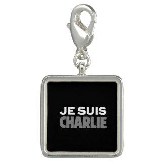 Je Suis Charlie - I-förmiddagCharlie svart Berlock