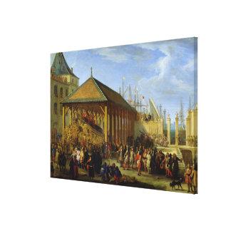 Jean-Baptiste Colbert Markis de Seignelay Canvastryck