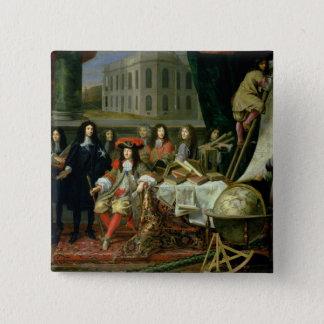 Jean-Baptiste Colbert som framlägger royal Standard Kanpp Fyrkantig 5.1 Cm
