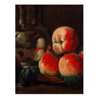 Jean-Baptiste-Simeon Chardin - stilleben med tin Vykort