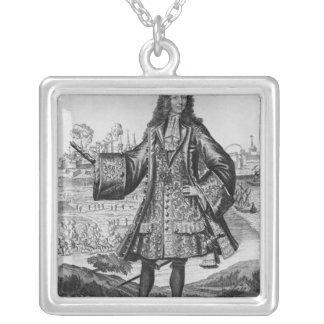 Jean Bernard Desjean Baron de Pointis Silverpläterat Halsband