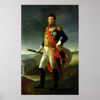 Jean-de-Dieu Soult Hertig av Dalmatia, 1856 Poster