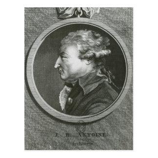 Jean Denis Antoine arkitekt Vykort