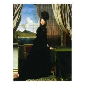 Jean Ingres- Caroline Murat, drottning av Naples Vykort