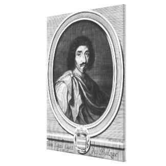 Jean Louis Guez de Balzac Canvastryck