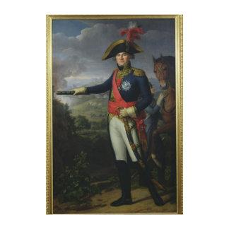 Jean Mathieu Philibert Serurier Comte d'Empire Canvastryck