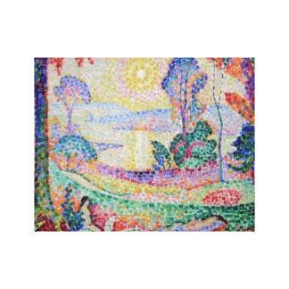 Jean Metzinger 906 landskap olja-på-kanfas Canvastryck