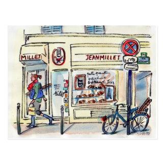 Jean Milletbakelser Paris vid sången Gillott Vykort