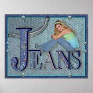 Jeans - affisch