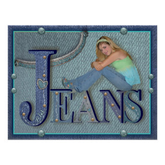 Jeans - affisch poster