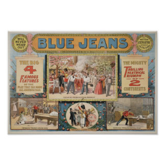 Jeans vid Joseph Arthur Poster