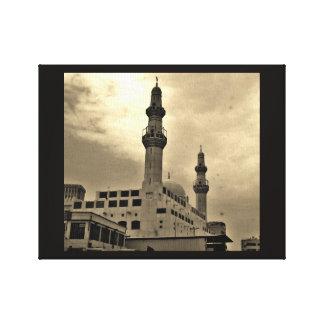 Jeddah moské canvastryck