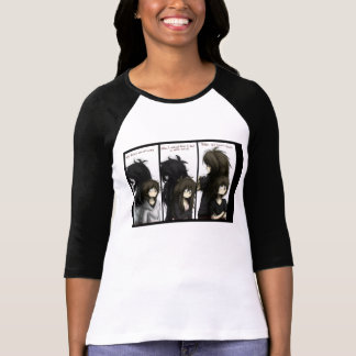 Jeff, Jane & Liu citationsteckenskjorta T Shirt