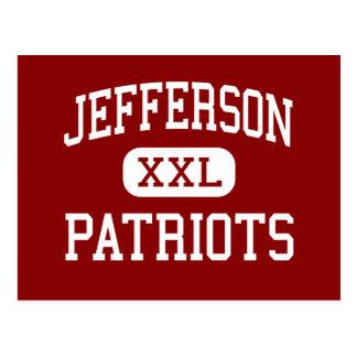 Jefferson - patrioter - junior - Naperville Vykort