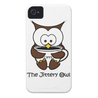 Jeffy den nervösa ugglavitmuggen Case-Mate iPhone 4 case