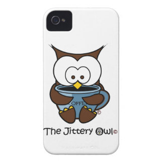 Jeffy som de nervösa ugglablåtten rånar iPhone 4 skydd