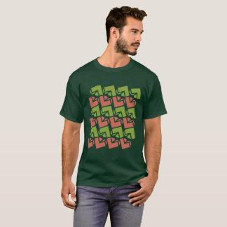 Jella/manar grundläggande mörka T-tröja Tee Shirt