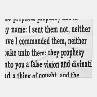 Jer. 14:14 kökshandduk