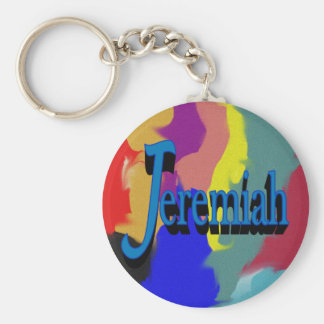 Jeremiah Keychain Rund Nyckelring