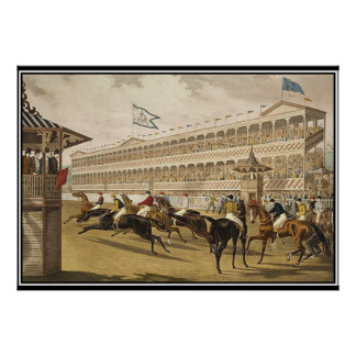 Jerome parkerar den tävlingvintage affisch 1868