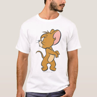 Jerry tittar tillbaka förargat t-shirts
