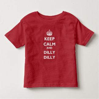 Jersey för småbarn för behållalugn- och DillyDilly T Shirt