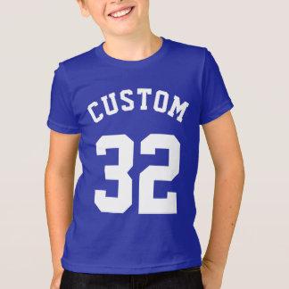 Jersey för sportar för blått- & vitungar | design tröja