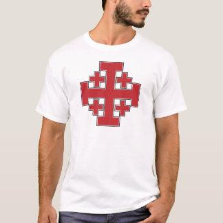 Jerusalem argt rött t-shirts