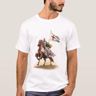 Jerusalem för Templar riddarekorsfarare arg T-shirt